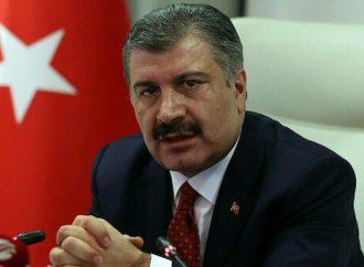 Bakan Koca: Türkiye'deki vaka sayısı 4'üncü haftada düşüşe geçti.