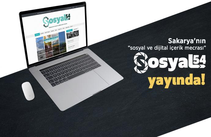 Sosyal54 Yayında!
