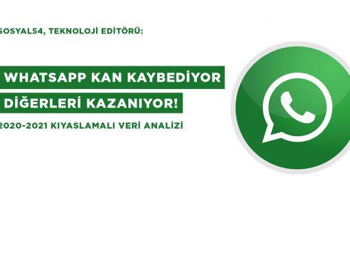 WhatsApp Kan Kaybediyor Diğerleri Kazanıyor